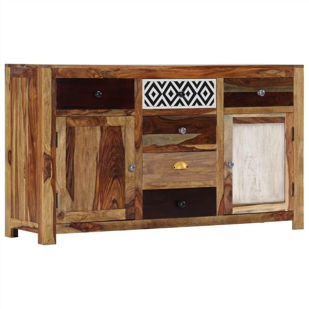 Sideboard 140x40x80 cm Solid Sheesham Wood
