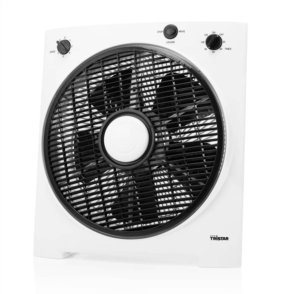 Tristar Box Fan VE-5858 30W 30cm Λευκό και Μαύρο
