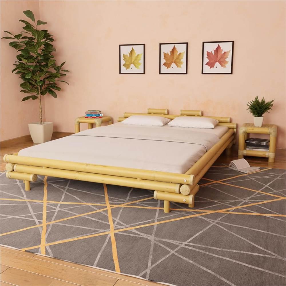 Cadre de lit Bambou 160x200 cm