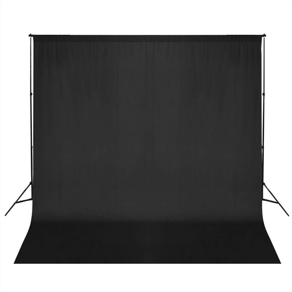 ระบบรองรับฉากหลังภาพ 600x300 ซม. สีดำ