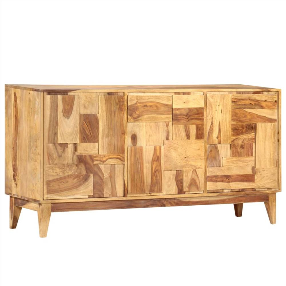 Aparador 145x40x76 cm Sheesham Wood maciço