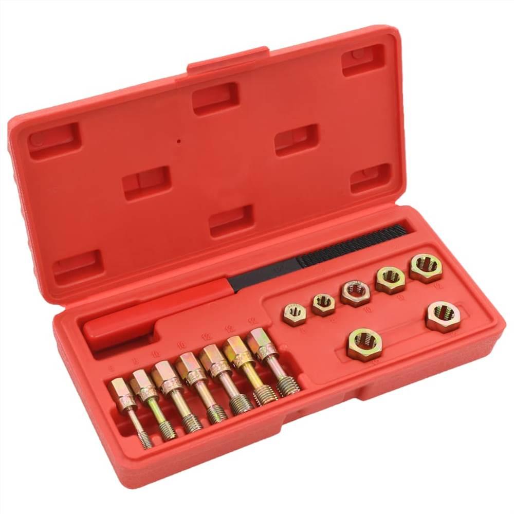 15 Piece Metric Rethreader Kit