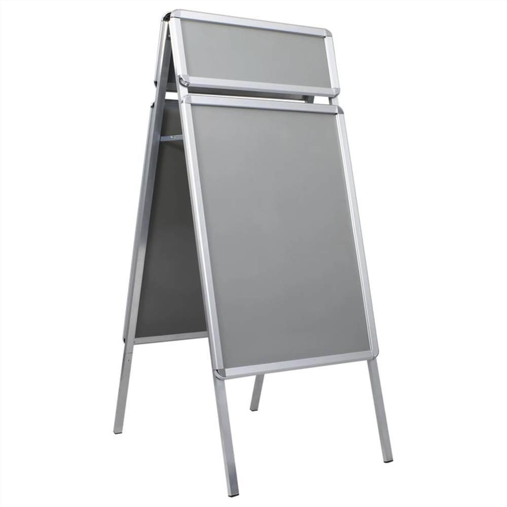 Support d'affiche de butoir de client A1 avec en-tête en aluminium