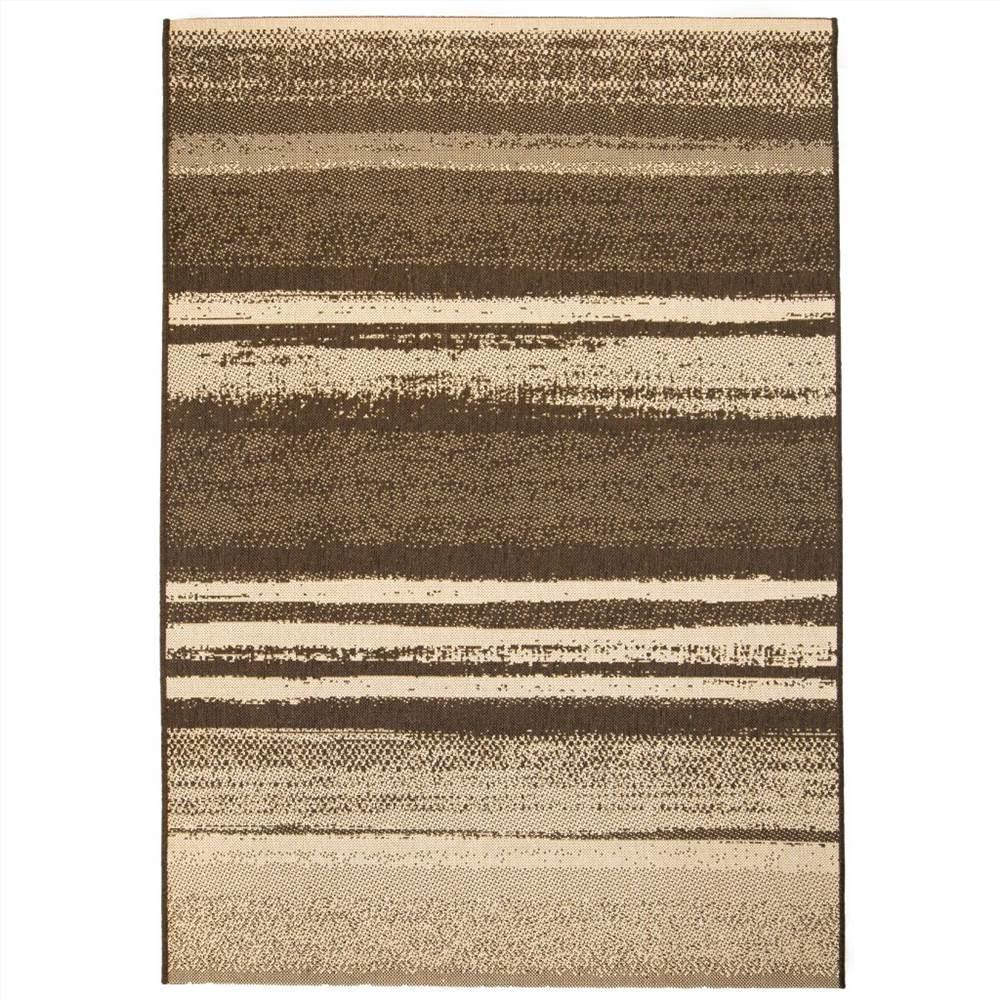 Area Rug Sisal Look Indoor/Outdoor 160x230 cm Stripes