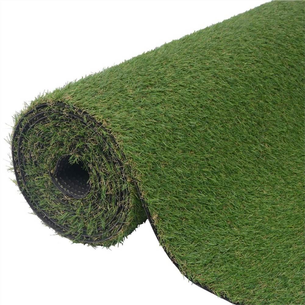 Erba artificiale 1.33x5 m / 20 mm Verde