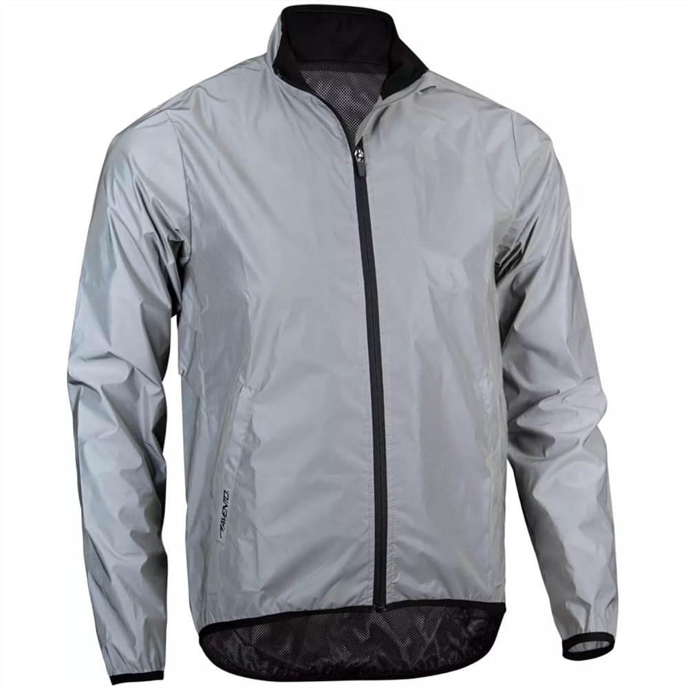 Avento Reflective Running Jacket Men XL 74RC-ZIL-XL