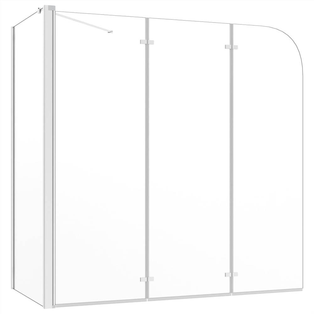 Bath Enclosure 120x69x130 cm Tempered Glass Transparent