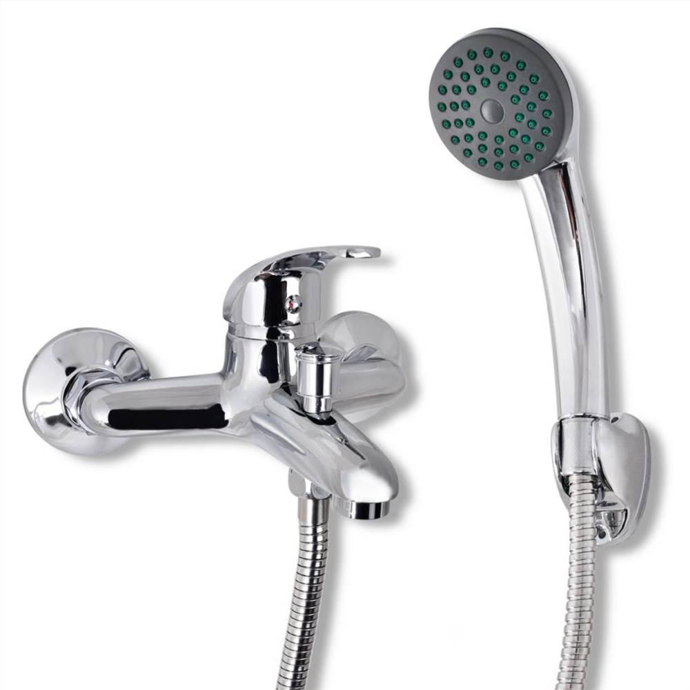 Bath Shower Mixer Tap Kit Chrome