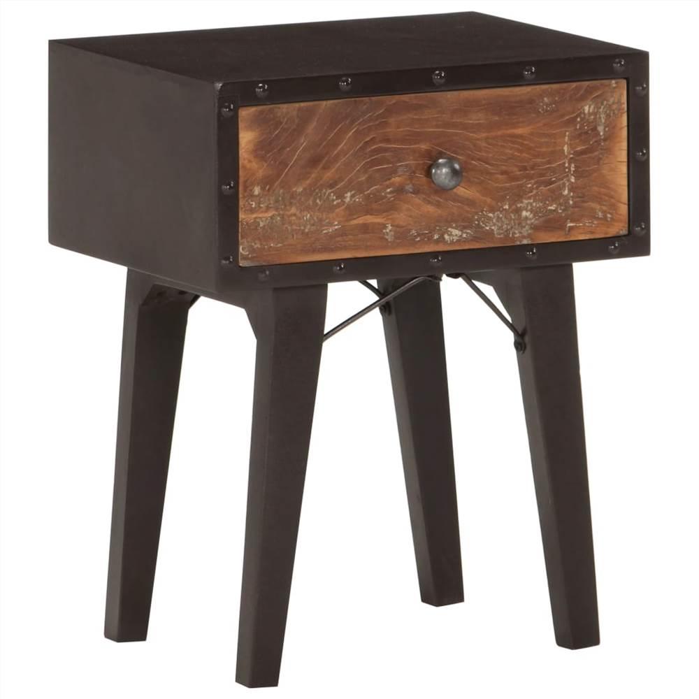 Nachttisch 40x30x50 cm Massivholz