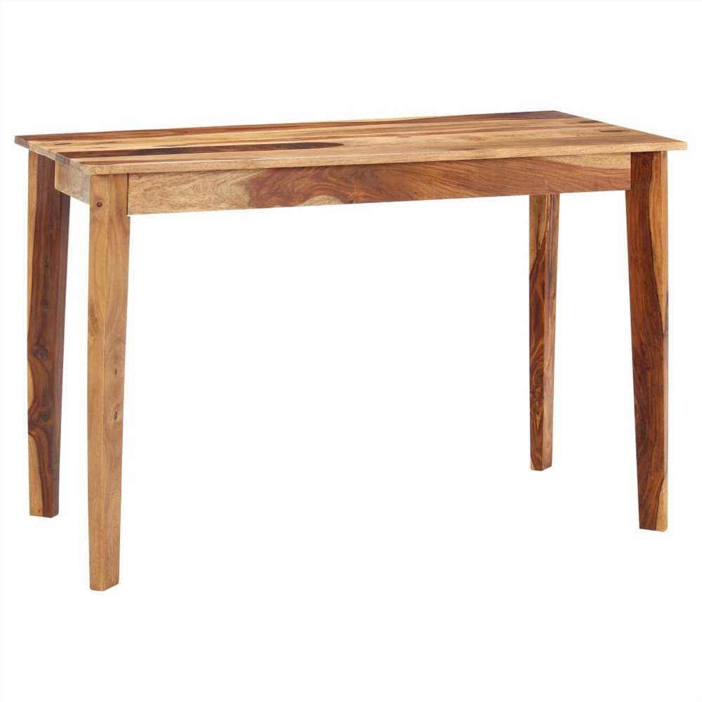 Dining Table 118x60x76 cm Solid Sheesham Wood