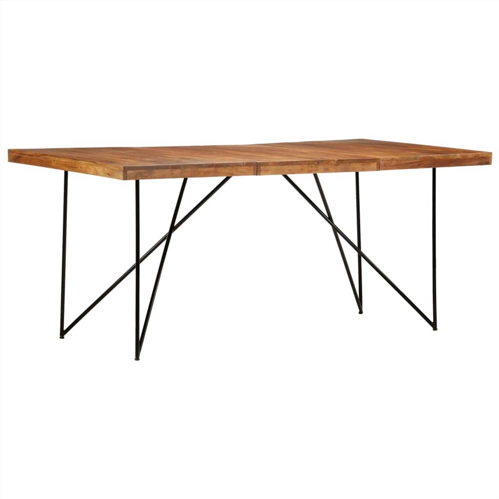 Dining Table 180x90x76 cm Solid Acacia Wood