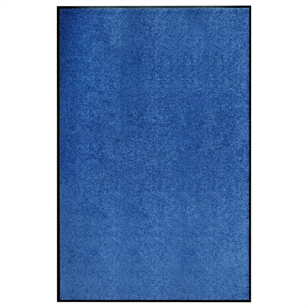 Paillasson Lavable Bleu 120x180 cm