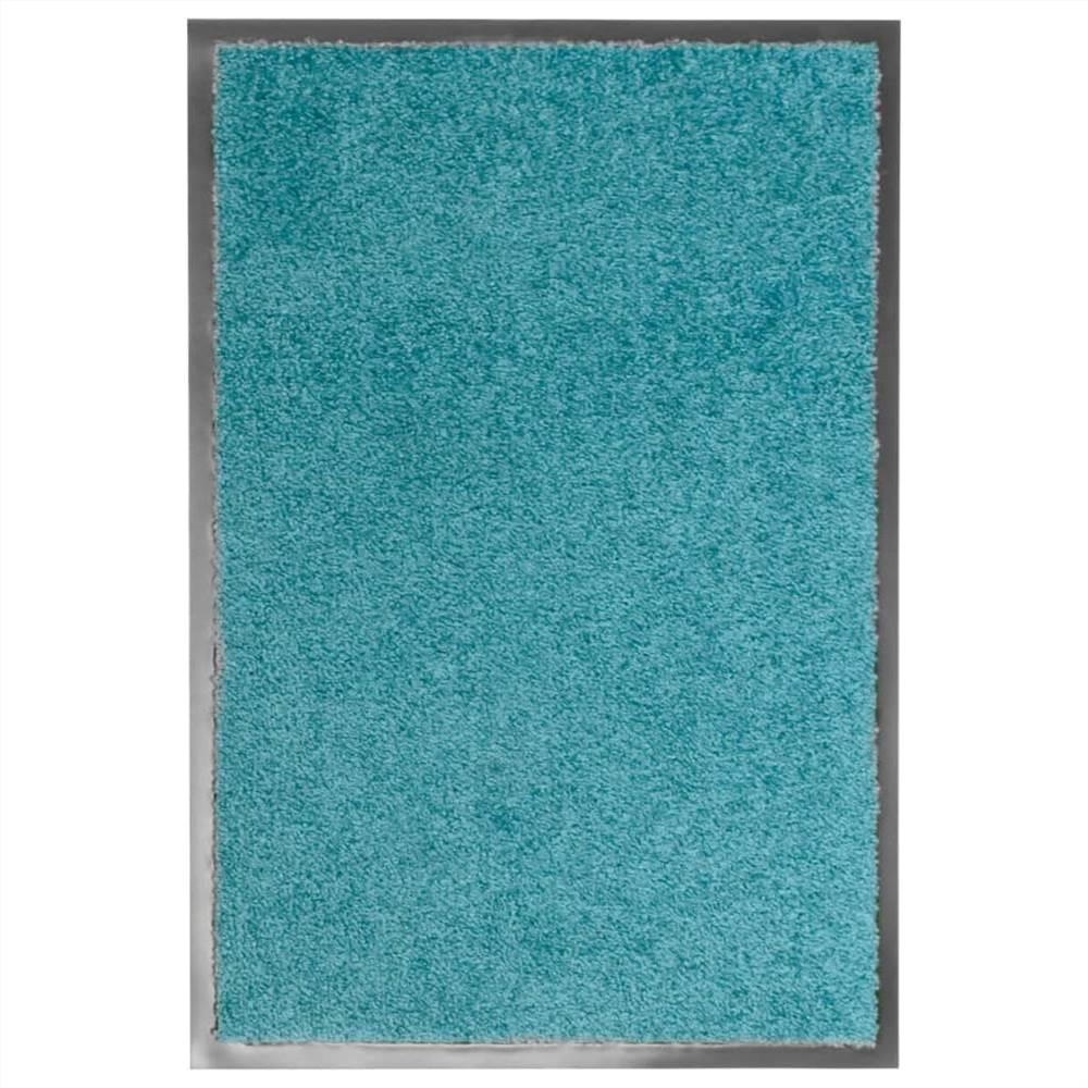 Paillasson Lavable Cyan 40x60 cm
