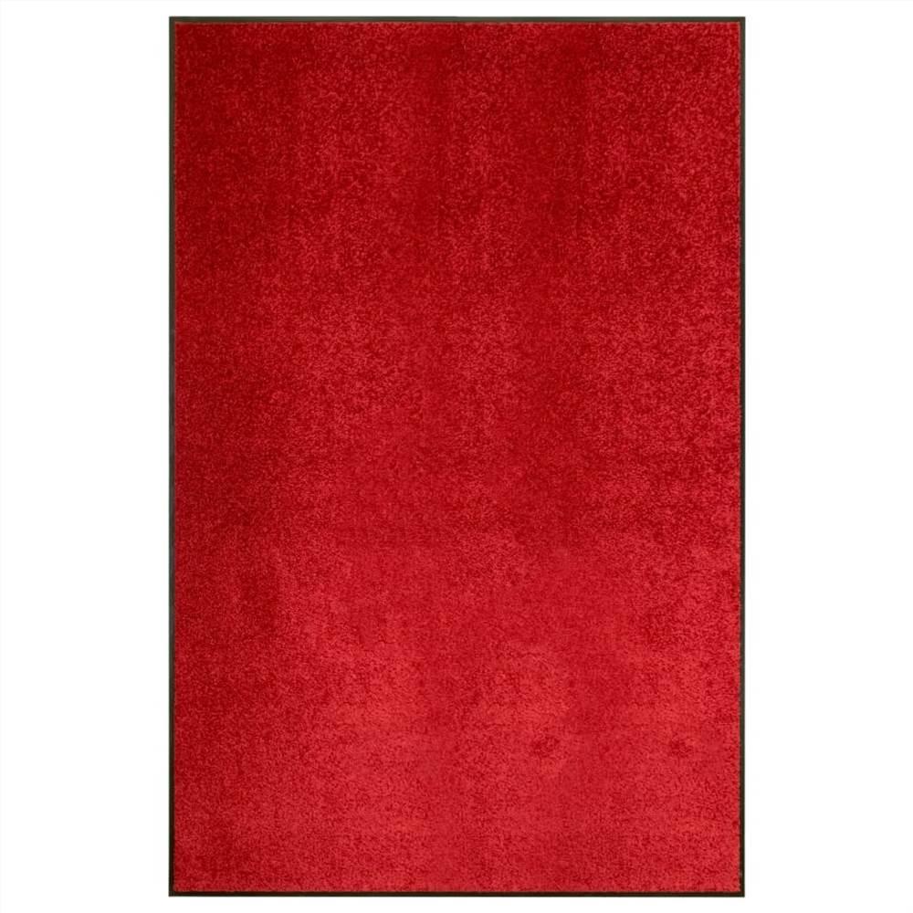 Paillasson Lavable Rouge 120x180 cm