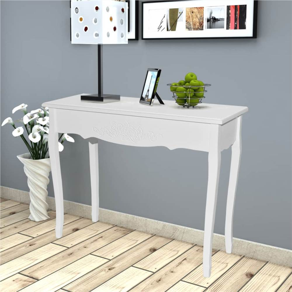 Dressing Console Table White