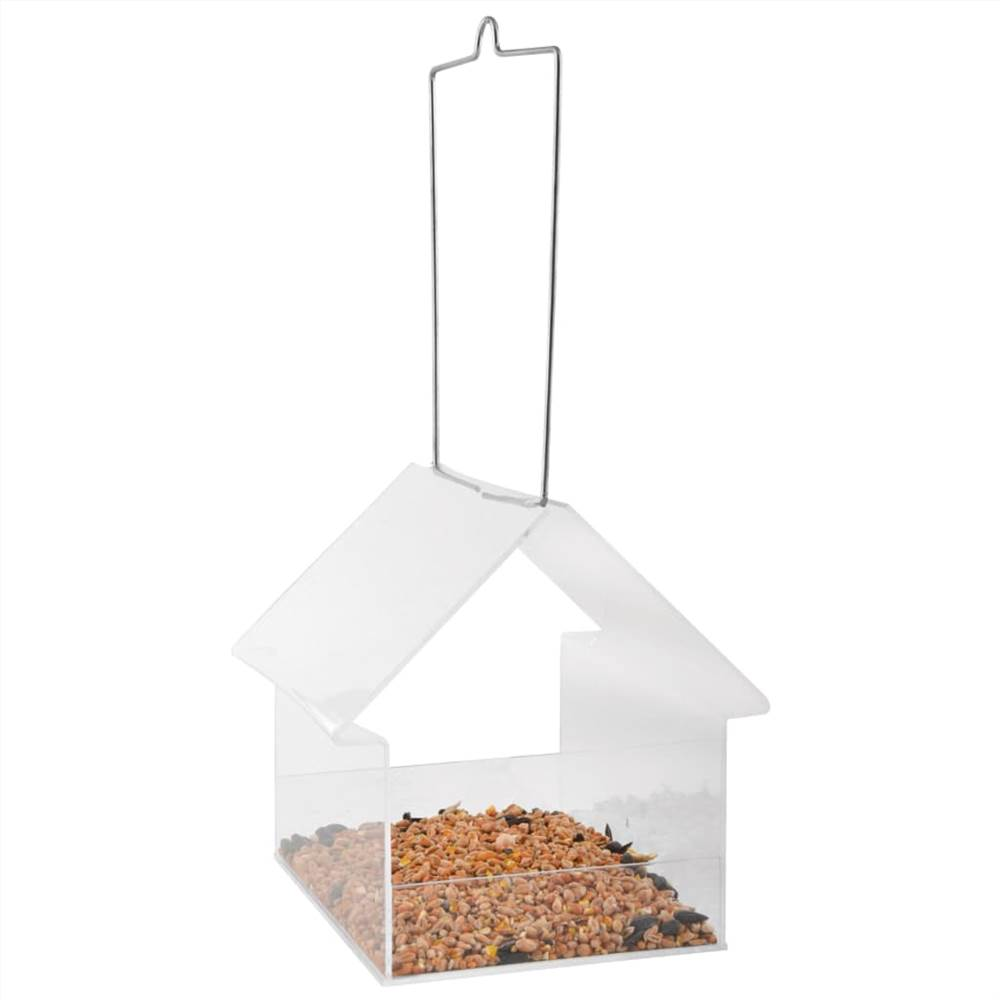 Esschert Design Pendurado Birdtable House Acrílico