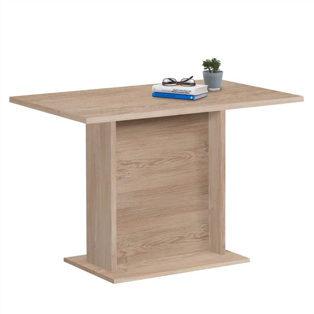 Table à manger FMD 110 cm chêne