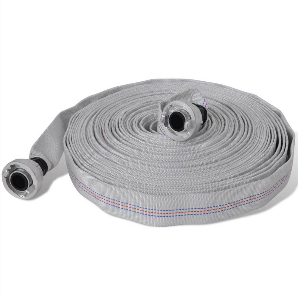 Fire Hose Flat Hose 20 m with D-Storz Couplings 1 Inch
