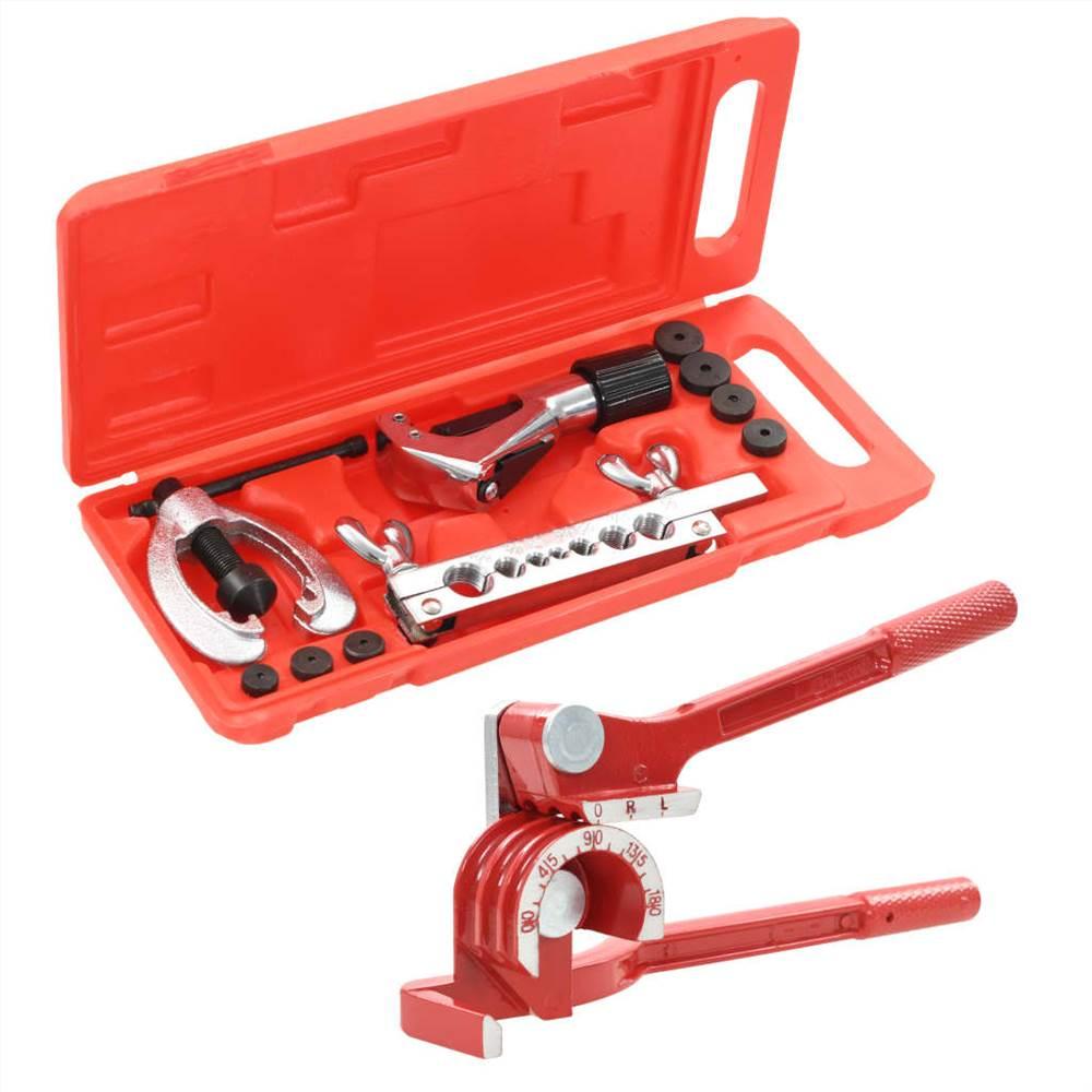 Kit di attrezzi per svasatura Set riparazione tubi piegatubi con custodia
