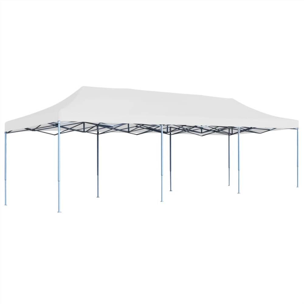Folding Pop-up Party Tent 3x9 m White