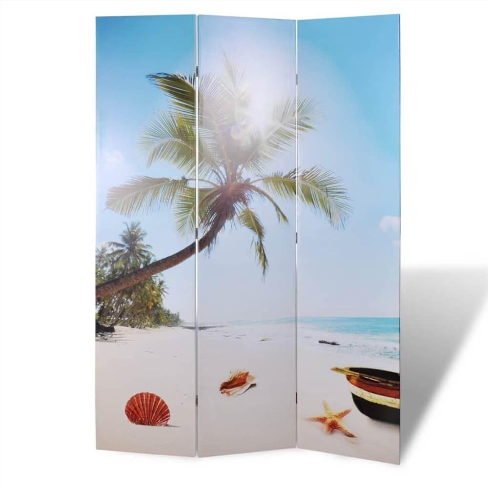 Cloison pliante 120x170 cm Beach
