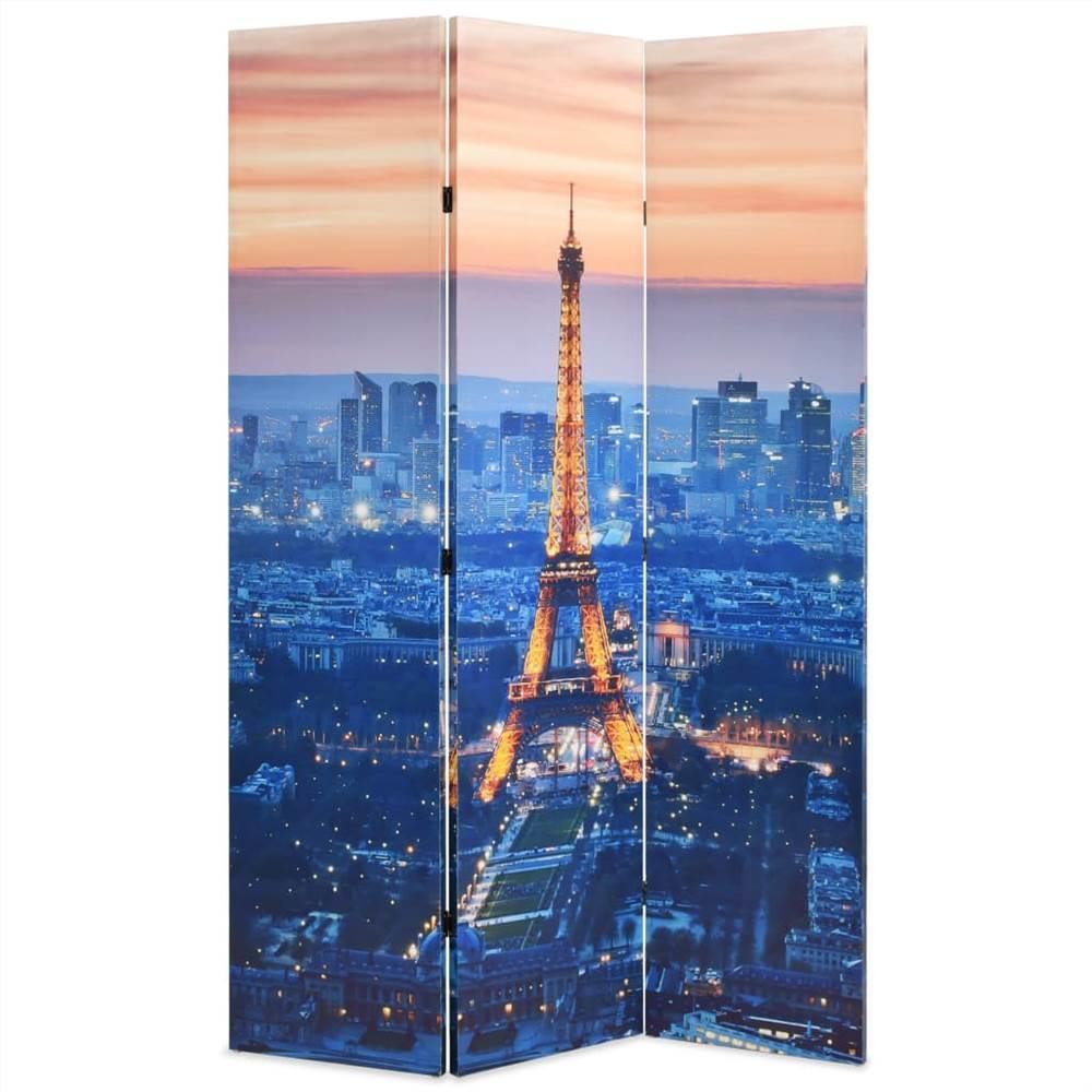 Cloison pliante 120x170 cm Paris by Night