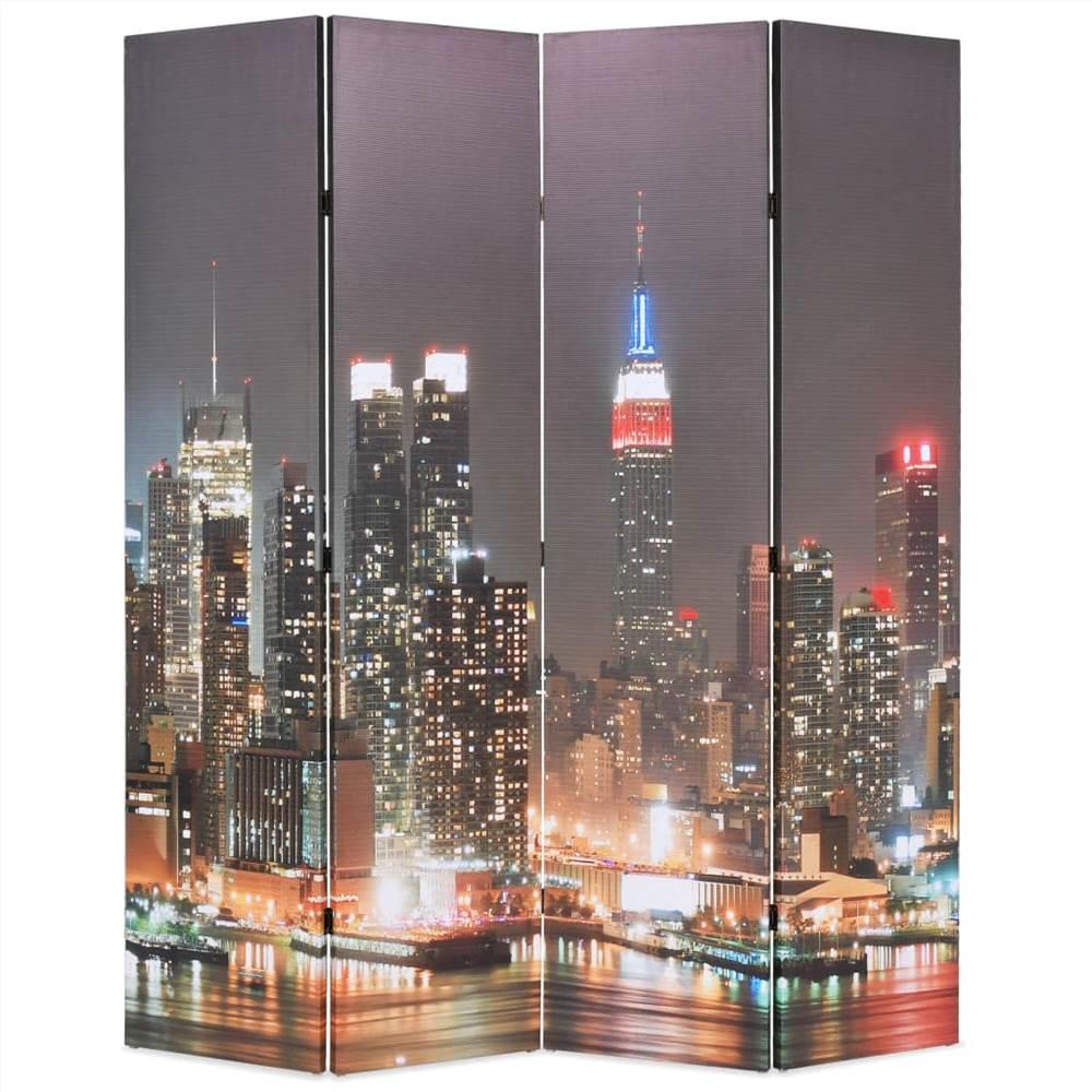 Cloison pliante 160x170 cm New York by Night