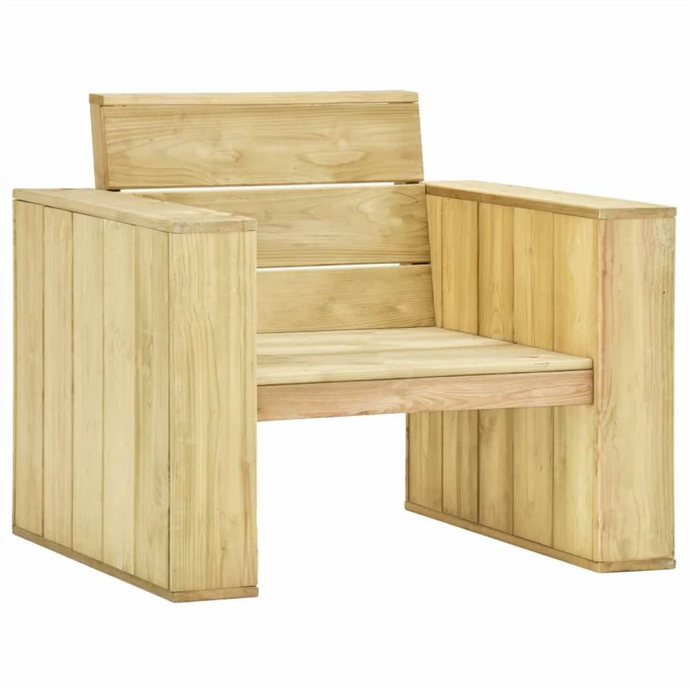 Garden Chair 89x76x76 cm Impregnated Pinewood