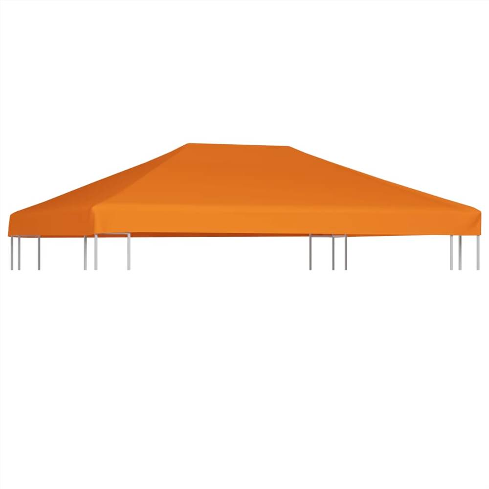 Gazebo Top Cover 310 g/m² 4x3 m Orange