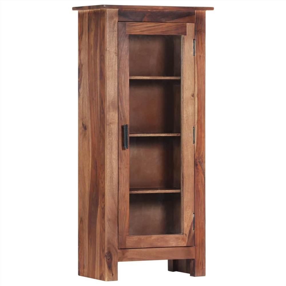 Highboard 50x30x110 cm Solid Sheesham Wood