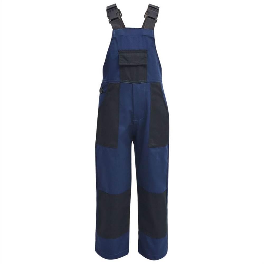 Salopette Enfant Taille 158/164 Bleu