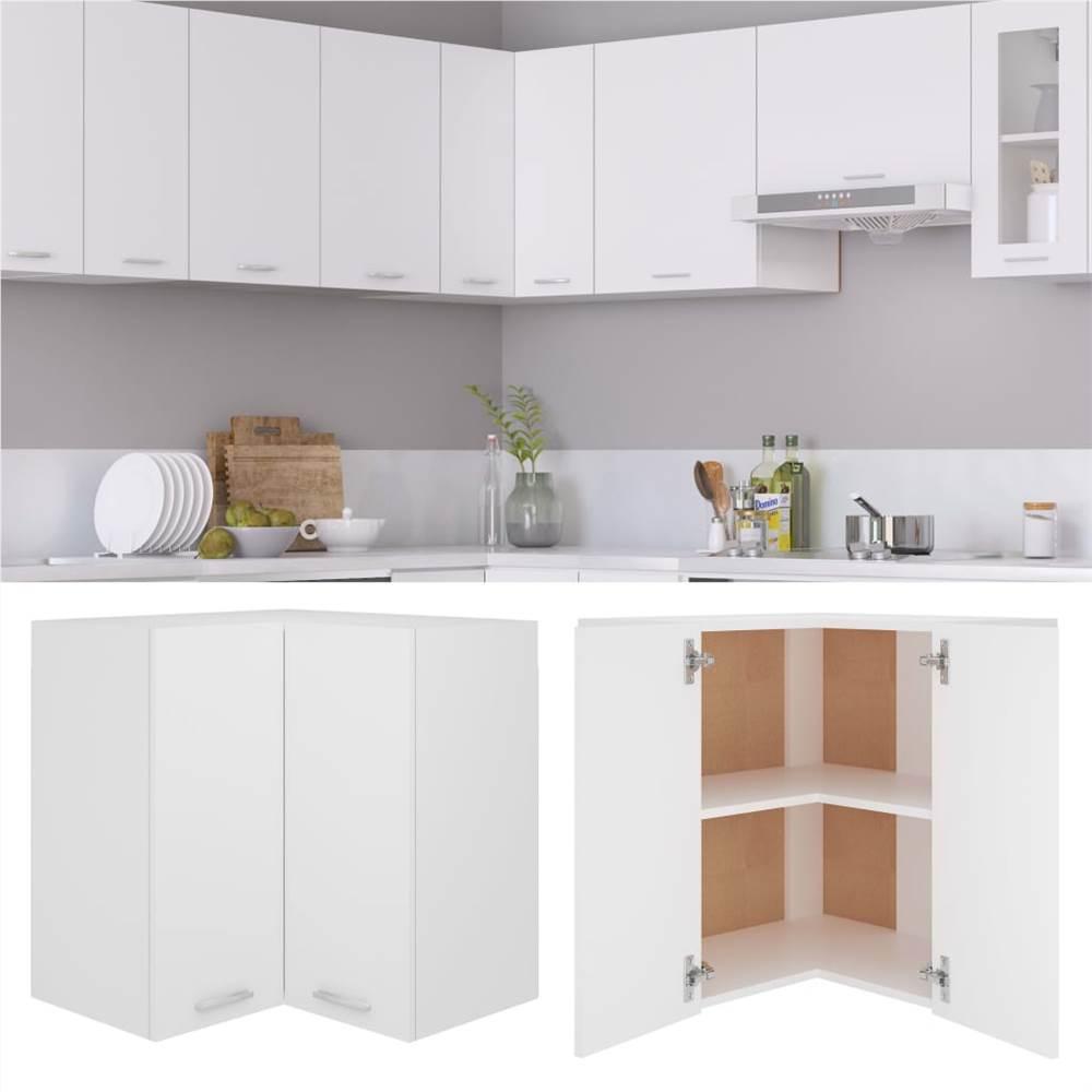 Kitchen Cabinet White 57x57x60 cm Chipboard