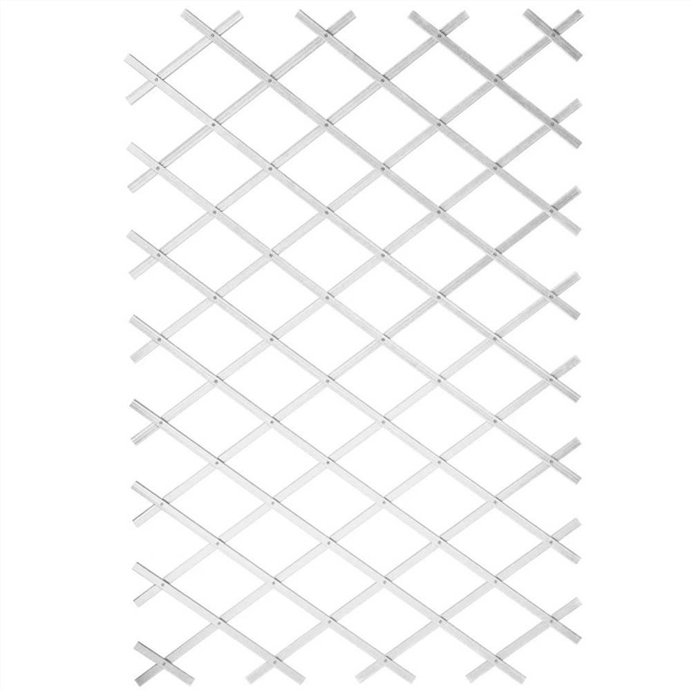 Treillis de jardin Nature 50x150 cm PVC Blanc 6040701