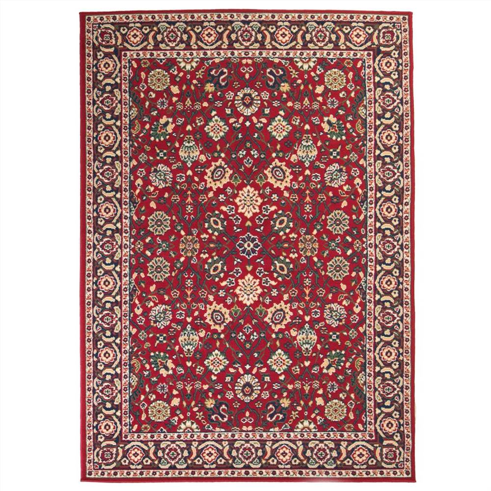 Tapete Oriental 120x170 cm Vermelho / Bege