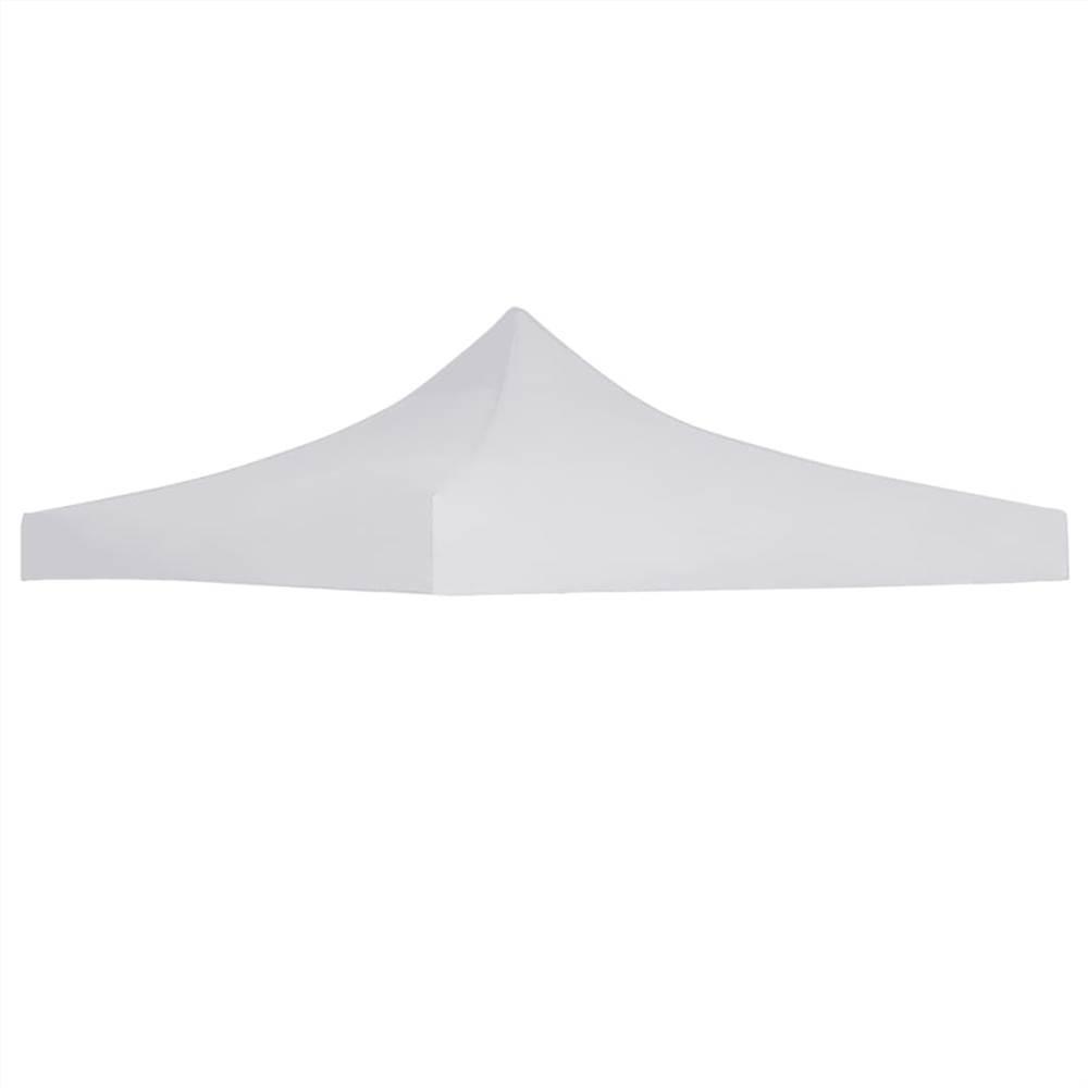 Toit de tente de fête 3x3 m Blanc