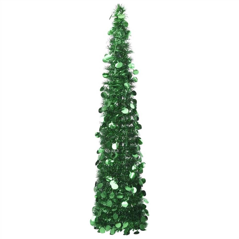 Sapin de Noël Artificiel Pop-up Vert 150 cm PET
