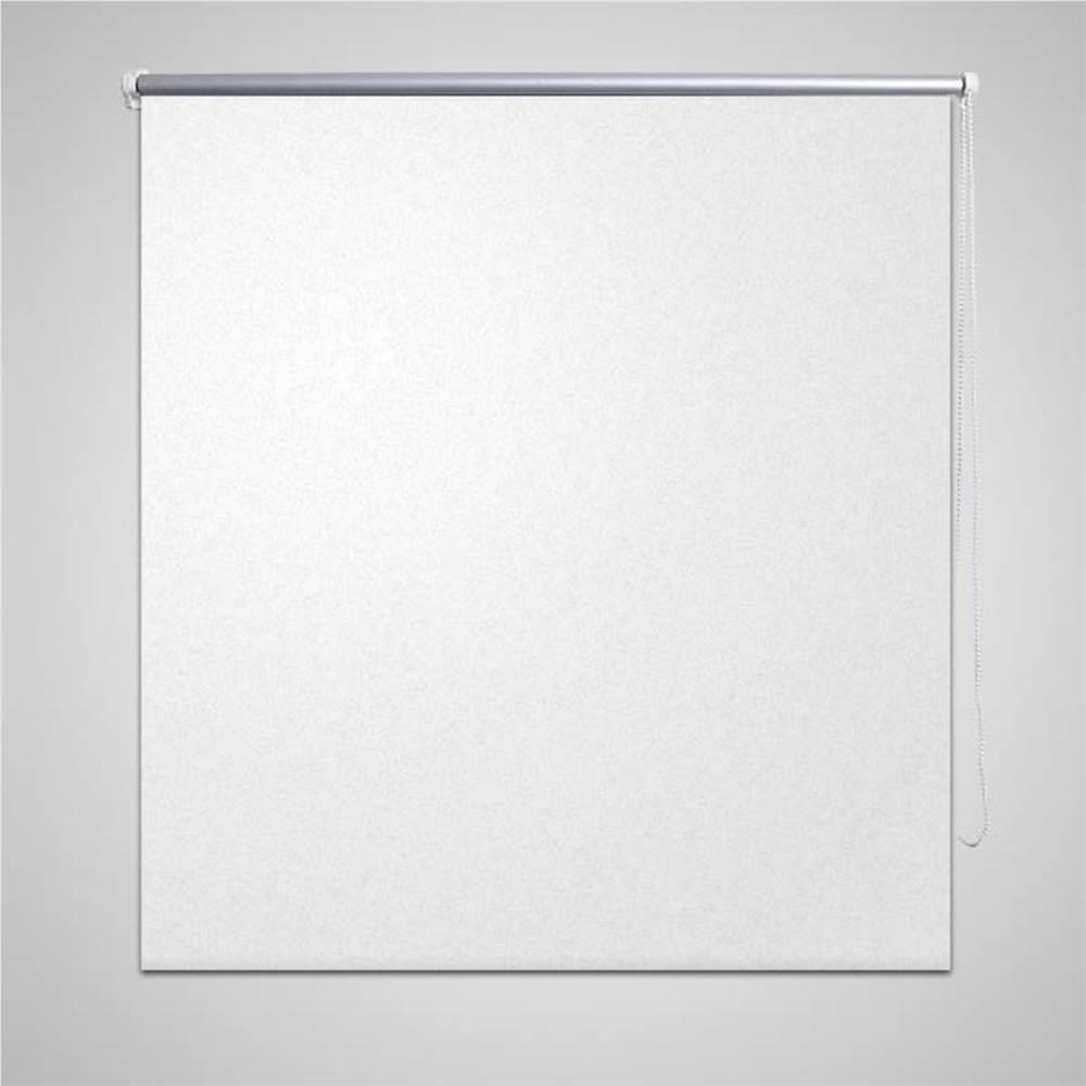 ローラーブラインドブラックアウト160x 230cmホワイト