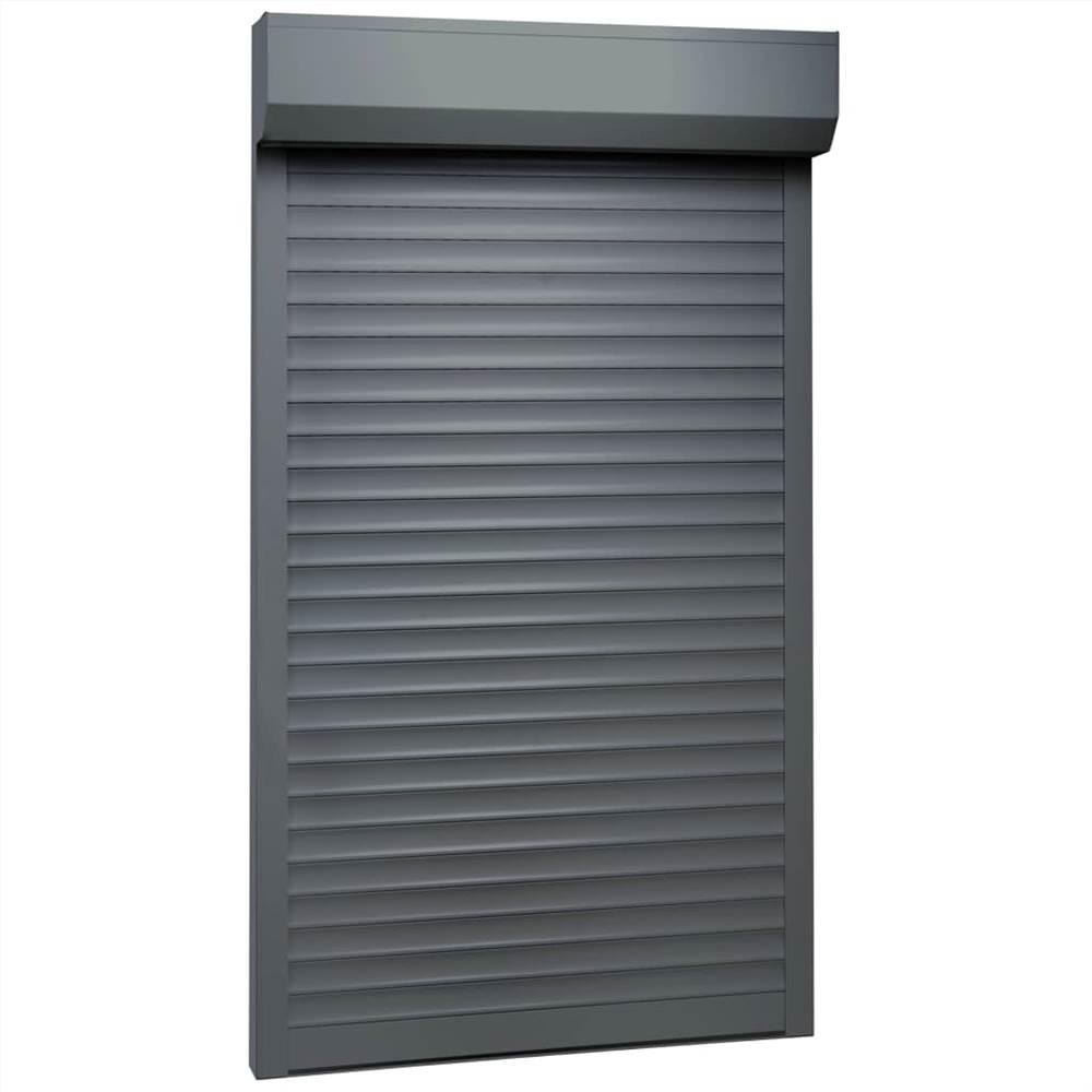Avvolgibile Alluminio 100x210 cm Antracite