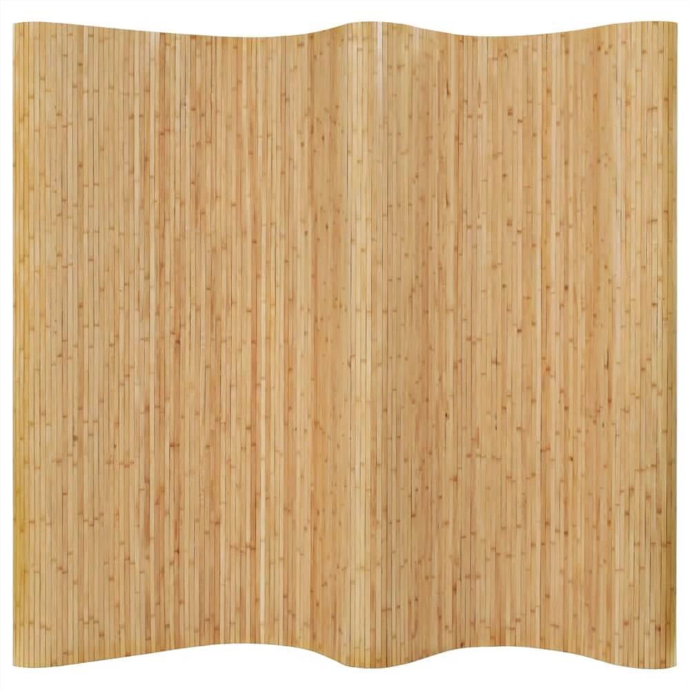 Séparateur d'espace Bambou 250x165 cm Naturel
