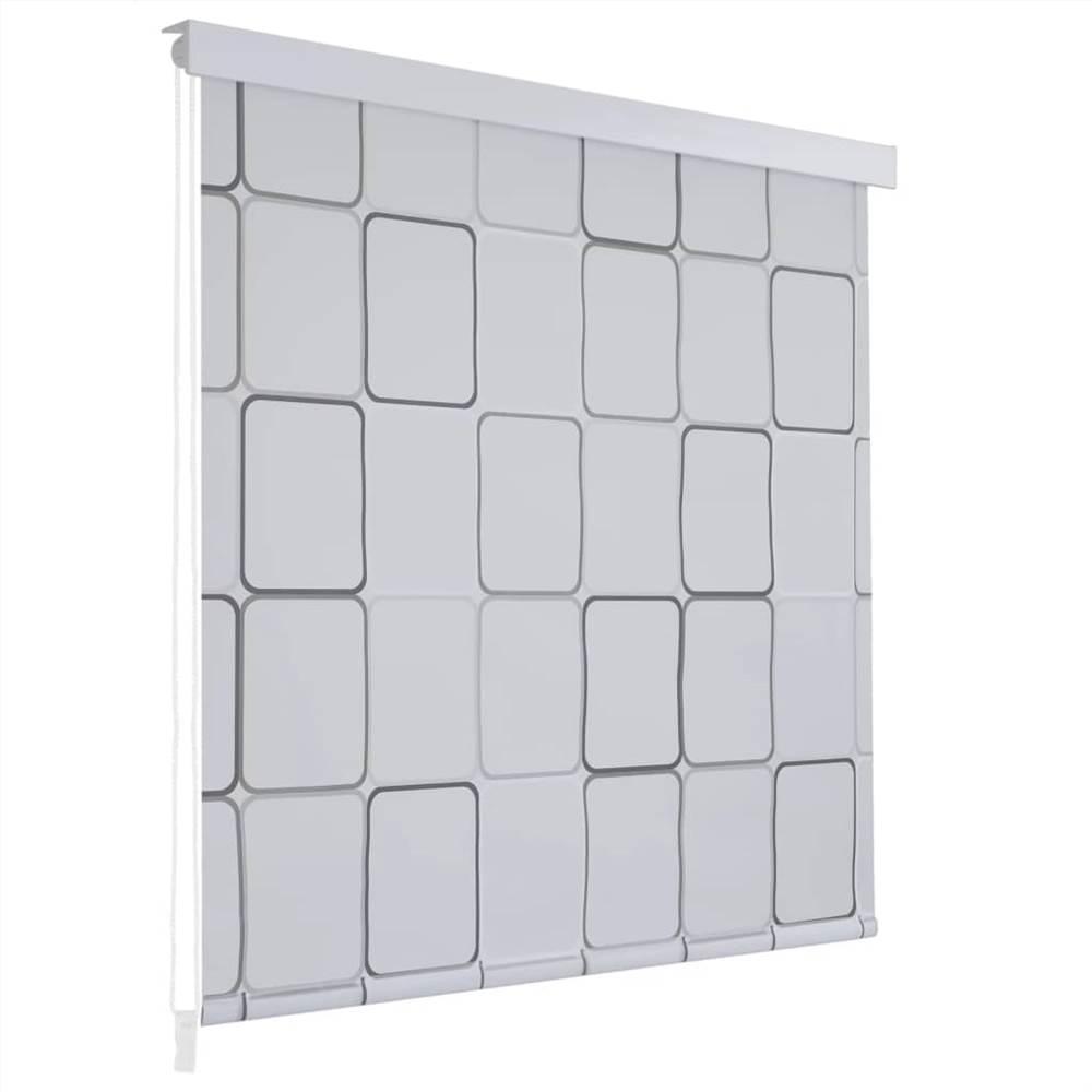 Рулонная душевая шторка 100x240 cm Square