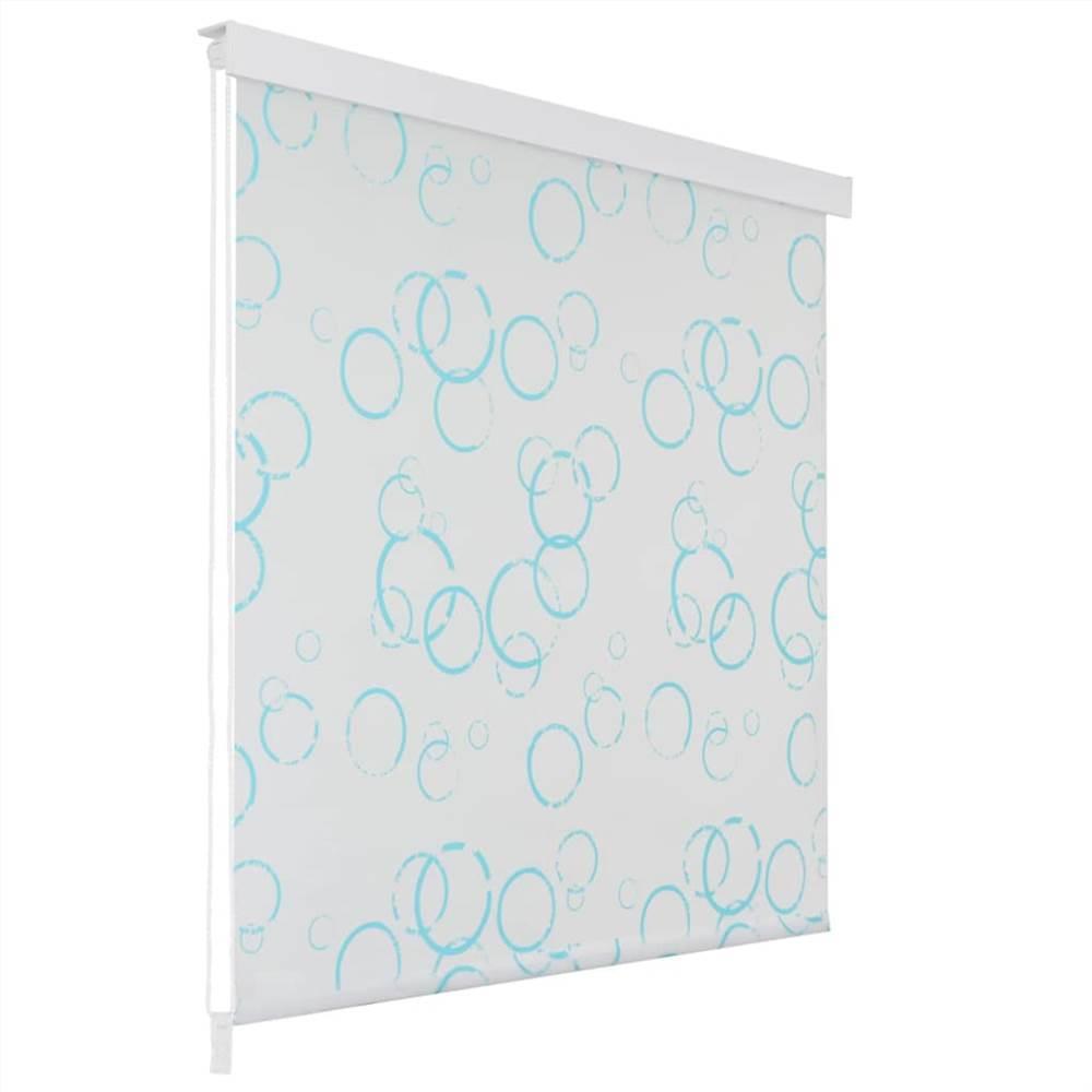 Рулонная шторка для душа 120x240 см Bubble