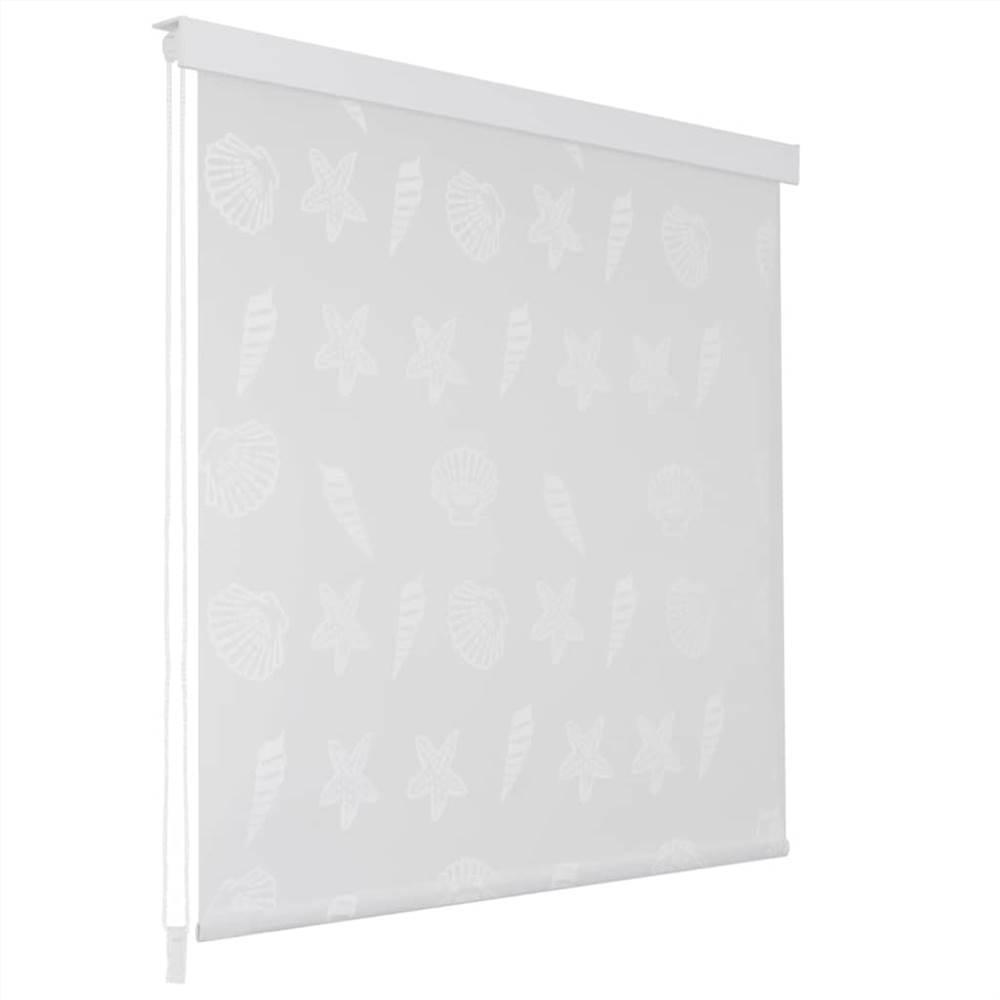 Shower Roller Blind 80x240 cm Sea Star