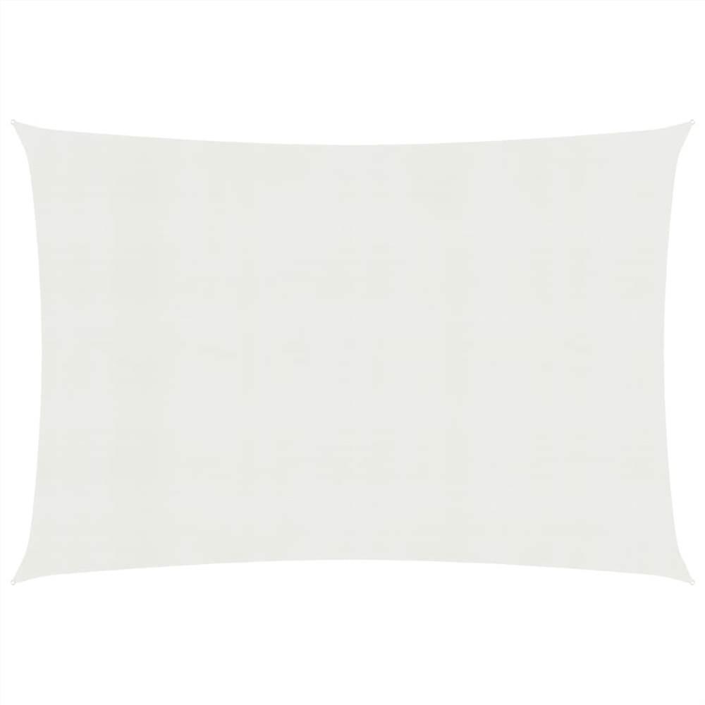 Pare-soleil Voile 160 g / m² Blanc 2.5x3.5 m PEHD