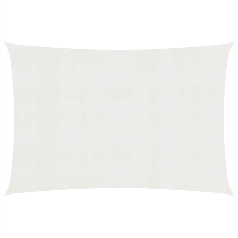 Pare-soleil Voile 160 g / m² Blanc 2.5x4 m PEHD