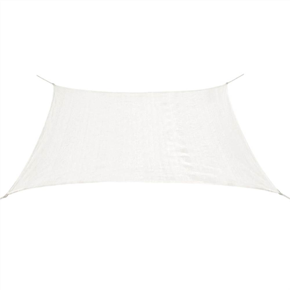 Sunshade Sail HDPE Square 3.6x3.6 m White