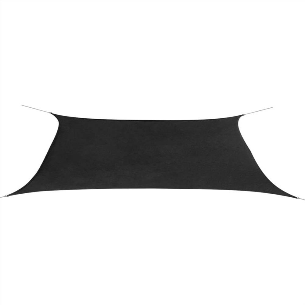 Sunshade Sail Oxford Fabric Rectangular 4x6 m Anthracite