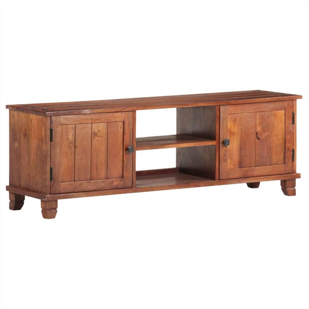 TV Cabinet Honey Brown 120x30x41 cm Solid Acacia Wood