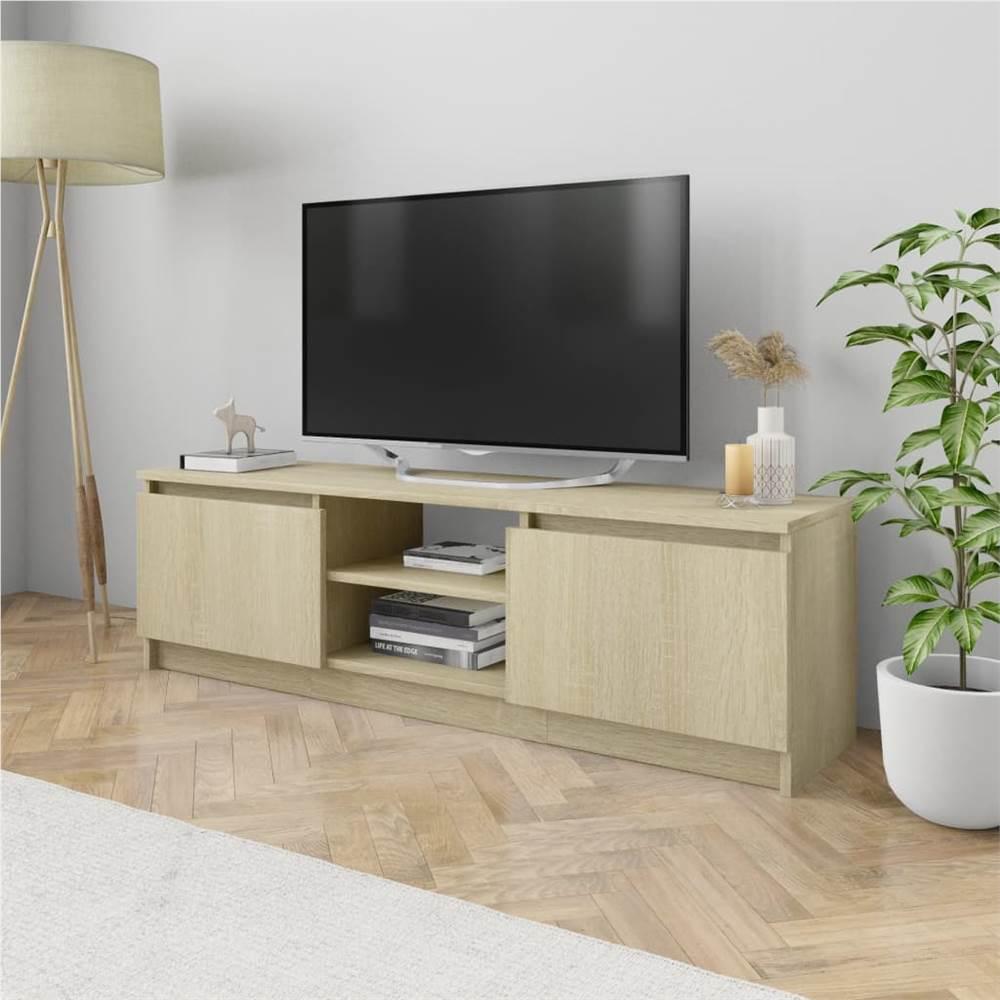 TV Cabinet Sonoma Oak 120x30x35.5 cm Chipboard