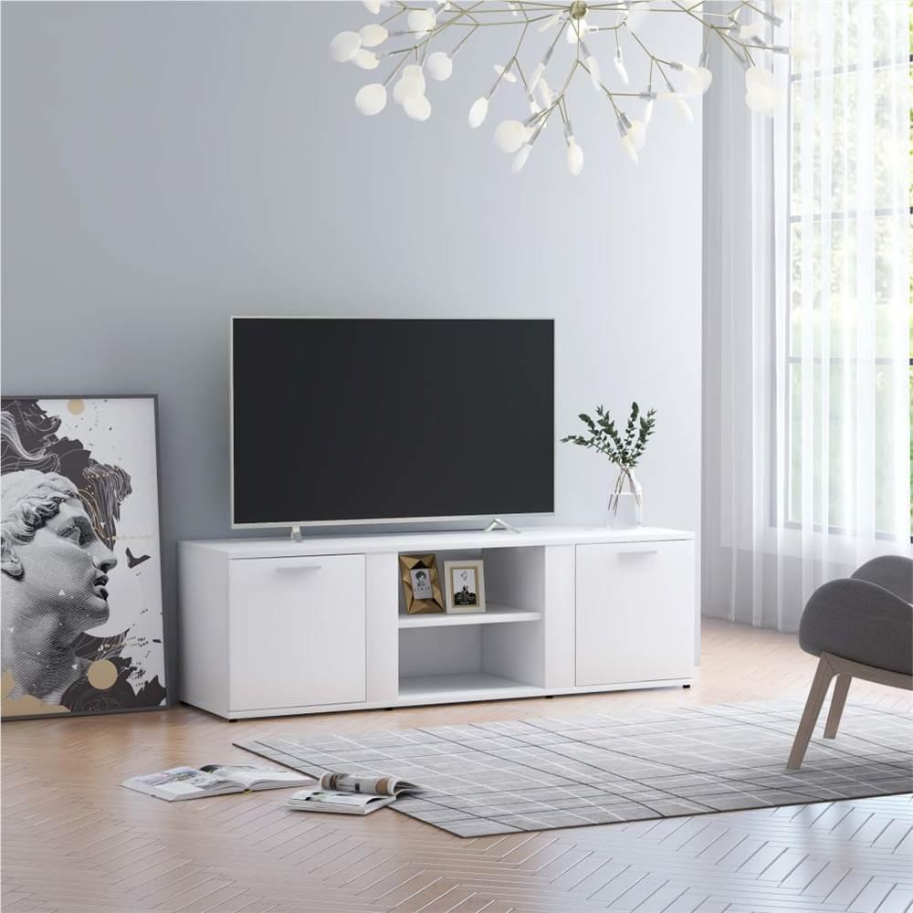 TV-Schrank Weiß 120x34x37 cm Spanplatte