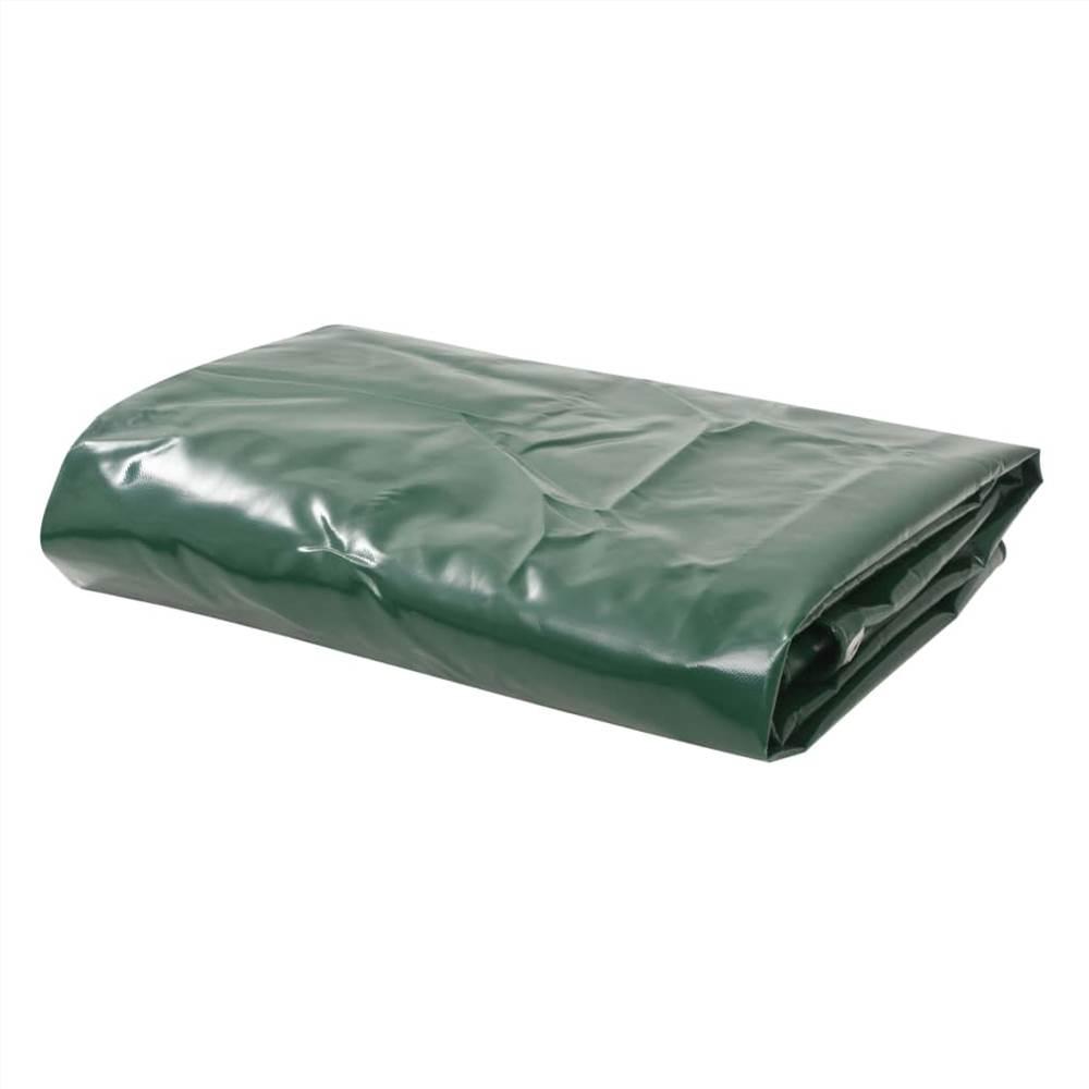 Bâche 650 g / m² 5x6 m Vert